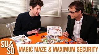 Magic Maze & Maximum Security expansion - Shut Up & Sit Down Review