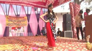 aashna superb dance on song nachan farrate from French public school