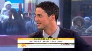 Matthew Goode on Leap Year
