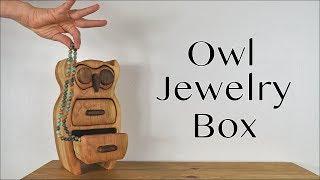 Owl Jewelry Box | DIY Bandsaw Box | How to