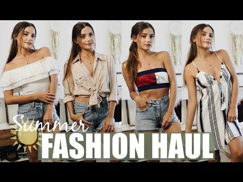 TRY ON Summer Fashion Beauty Haul