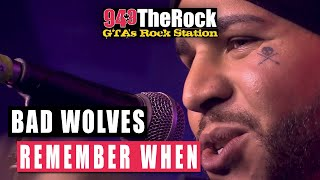 Bad Wolves - Remember When (Acoustic)
