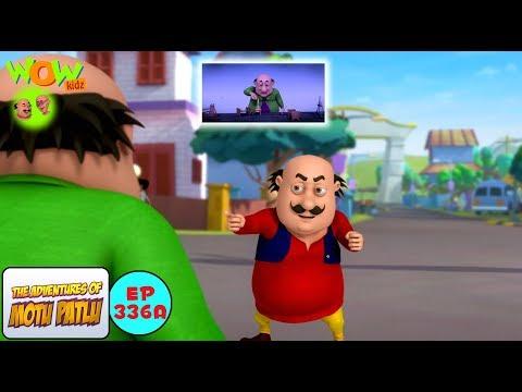 Dr Jhatka ka mind projector - Motu Patlu in Hindi - 3D Animation Cartoon for Kids -As seen on Nick