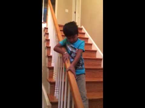 NRI (Non Resident Indians) Life Season 1, Part 7, Day 4 (Aanush's first day of first grade)