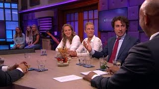 Jesse Klaver onthult het geheim achter de eikeltjespyjama - RTL LATE NIGHT