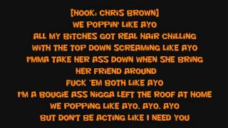 Chris Brown X Tyga  Ayo lyrics