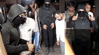 Ranveer Singh HIDE His Face From Media Spotted At Cinemaghar Theatre