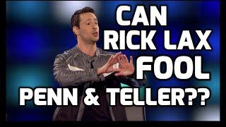 Penn & Teller Fool Us CW Season 2 Episode 10 Rick Lax