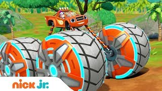 New Blaze Power Tires Full Episode Coming Oct. 16th 👀 Sneak Peek | Blaze & the Monster Machines