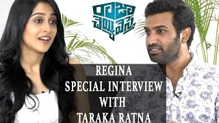 Regina Cassandra Interviews Nandmuri Taraka Ratna on the release of Movie Raja Cheyyi Veste