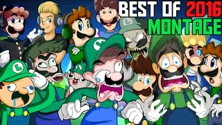 LUIGIKID GAMING - BEST OF 2016 MONTAGE - FUNNY MOMENTS & BEST JUMPSCARES!