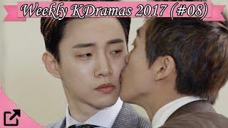 Top 10 Weekly Korean Dramas 2017 (#08)