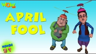 April Fool - Motu Patlu in Hindi - 3D Animation Cartoon for Kids -As seen on Nickelodeon