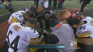 Teammates Focused On Shazier's Health After Scary Hit