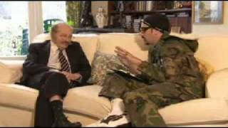 Ali-G...Interview with Morris Groose about haunted house