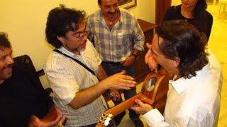 "Acclimatised to Obsolete Guitars ""flamenco cypress"" , ebony fret board habit etc / Ruben Diaz A & Q"