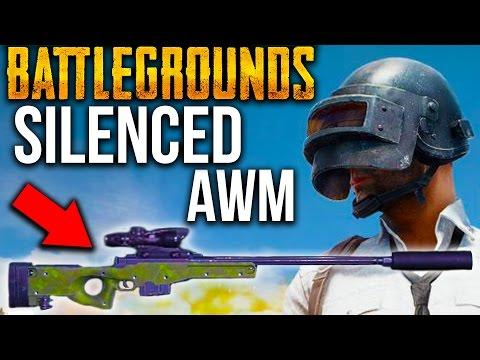 BATTLEGROUNDS AWM, M24 SNIPER GAMEPLAY + 10 KILL WIN! | Player Unknown's Battlegrounds