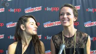 Person Of Interest Sarah Shahi & Amy Acker Talk Killing