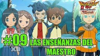 Inazuma Eleven Go 2 Chrono Stones Llamarada #09: Episodio 3 (3ªp) Enseñanzas del maestro (Español)