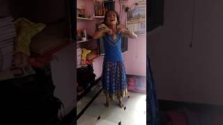 Bahubali pacha bottu dance by Sahithi