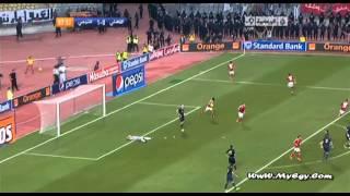 اهداف مباراة الاهلي والترجي 1-1 ابطال افريقيا 2012