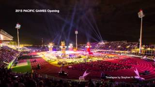 2015 Pacific Games Opening Ceremony Timelapse