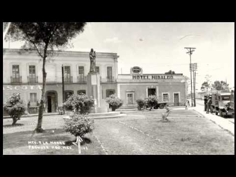 Litografía de Pachuca una ciudad que fue segunda parte.
