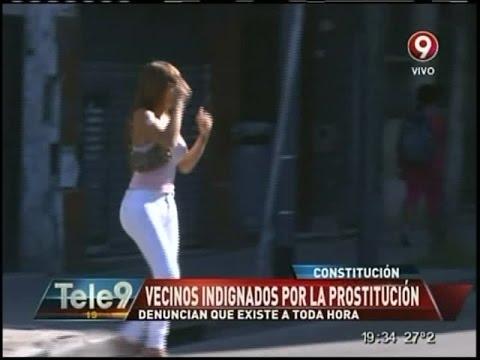 Prostitución a toda hora en Constitución