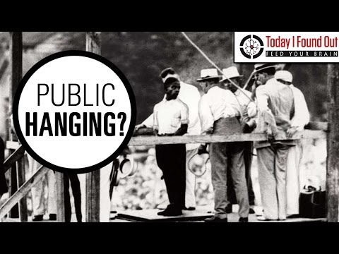 The Last Public Hanging in the United States