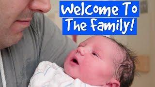 Meet My Son! (Birth Vlog)