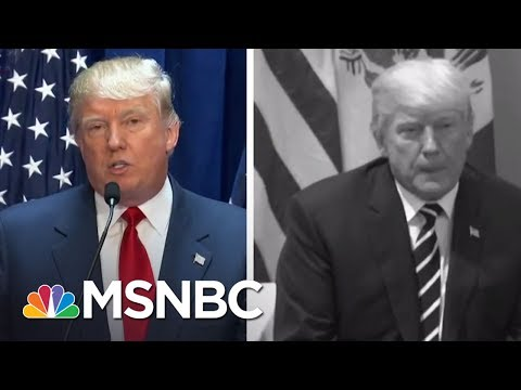 Donald Trump On Foreign Nations: At Home Vs. Abroad | The 11th Hour | MSNBC