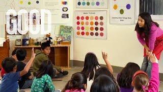 Inspiring Inner-City Children Through Art Class | GOOD Look