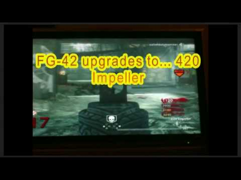 Pack a Punch Wepons Gameplay including Colt Raygun Ect. on Der Reise