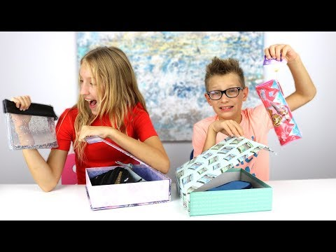 Mystery Box of Back to School Switch Up Challenge