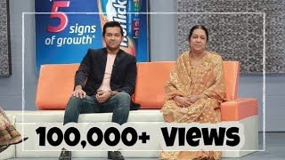 Tahsan and his mother in Horlicks Family Nutrishow 2014 | Episode 8 |