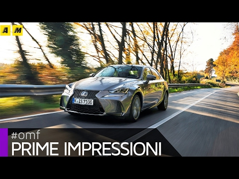 Lexus IS 300h restyling 2017 | Primo Test