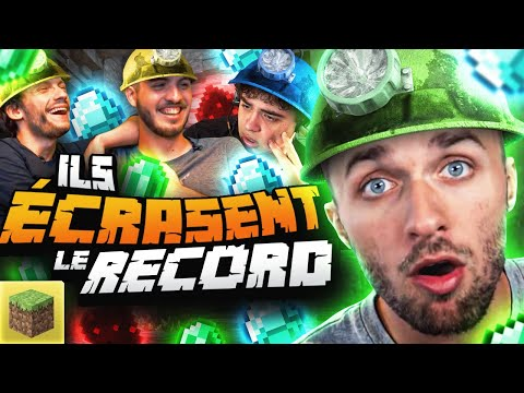 ILS EXPLOSENT LE RECORD 🤯 Minecraft Mineral Contest