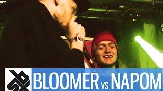 BLOOMER vs NaPoM  |  Grand Beatbox 7 TO SMOKE Battle 2016  |  Battle 6