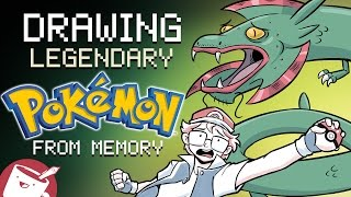 Drawing Legendary Pokémon From Memory (Ft. Pokémon Rusty)
