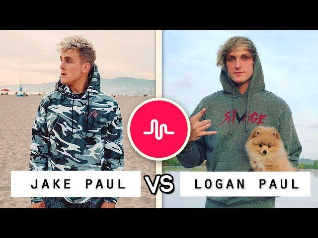 NEW Jake Paul vs Logan Paul Musical.ly Battle / Who's the Best