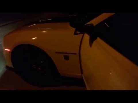 2010 Camaro 2ss/Rs at night