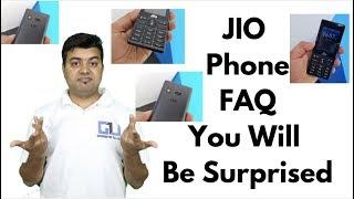 JIO Phone Whatsapp, JIO SIM Insert, Hotspot, All Questions Answered   Gadgets To Use