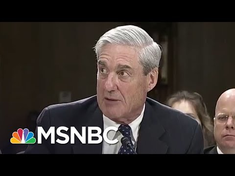 Robert Mueller Team Paints Picture Of Donald Trump Russia Investigation Rachel Maddow MSNBC