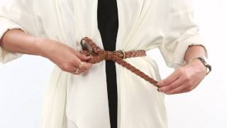 How to Loop your Belt in different ways - Women's Fashion Tips