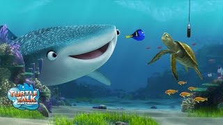 Finding Dory characters added to Turtle Talk with Crush at Epcot