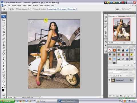 Tutorial Photoshop Efeito Falso 3D em Foto