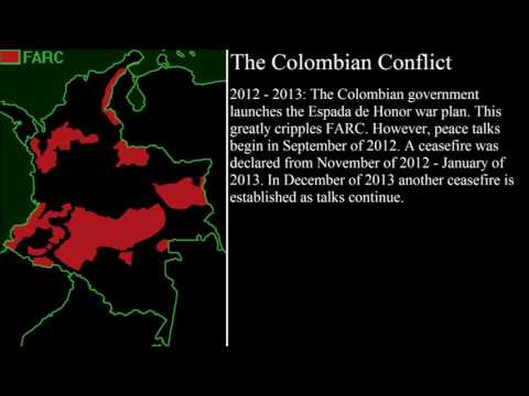 The Colombian Conflict (The Final Years)