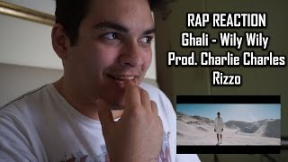 RAP REACTION • Ghali - Wily Wily (Prod. Charlie Charles) • Rizzo