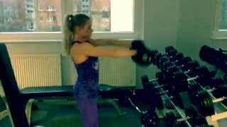 Upper Body Workout with Lea Roth- Chiara Nielsen IFBB