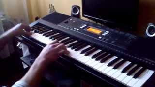 Yamaha psr E343 - Adele - Set Fire To The Rain